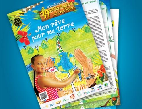magazine Foire agricole de Bras Panon